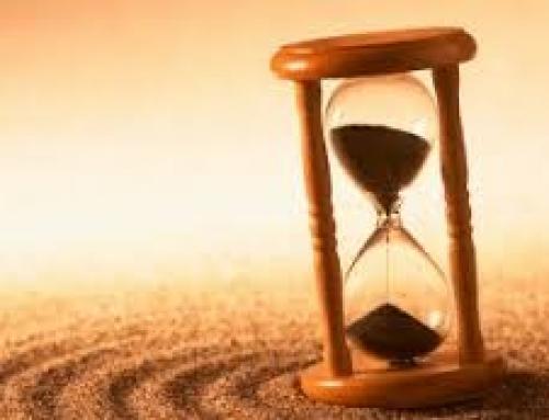 Nenhum momento é mais importante do que agora.